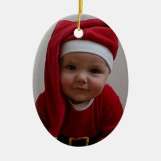 Baby Christmas Santa Ornaments