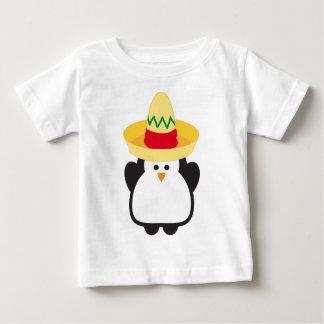 Baby Cinco de Mayo Penguin Tee Shirt