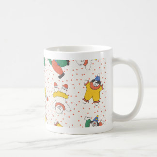Baby Circus Animals Illustration Pattern Coffee Mug