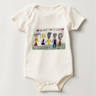 Baby Clothes - Adoption Is Love Creeper