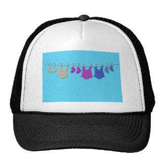 Baby Clothes Line Trucker Hat