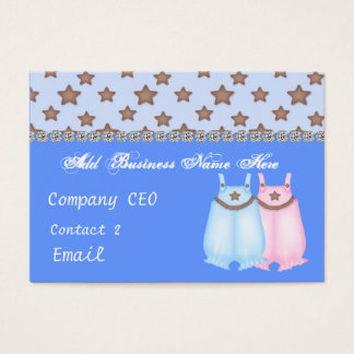 Baby Clothes STORE Glam Business Card