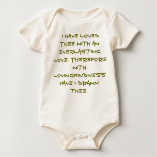 Baby clothing Christian Baby Bodysuit