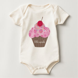 BABY CLOTHING :: sweet cupcake Baby Bodysuit