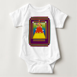 Baby Clothing with Candy Nugget Design Baby Bodysuit
