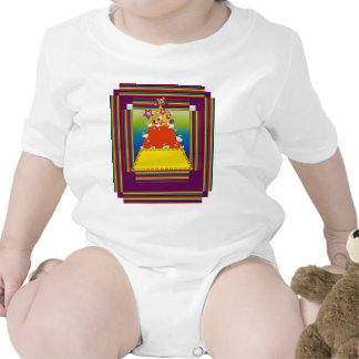 Baby Clothing with Candy Nugget Design Bodysuits