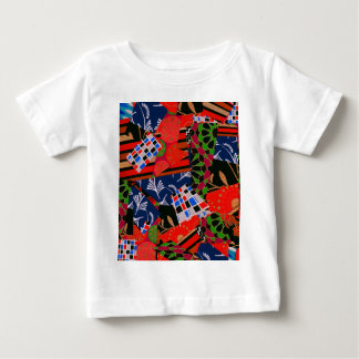 Baby Clothing with Colorful Collage Baby T-Shirt