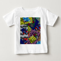 Baby Clothing with Multi-Patterned Design Baby T-Shirt