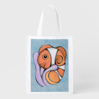 Baby Clownfish Grocery Bag