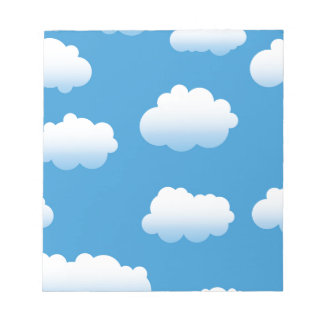 Baby Clue Clouds in the Sky Notepad