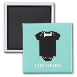 BABY & CO Baby Tiffany Love Baby Boy Shower Magnet
