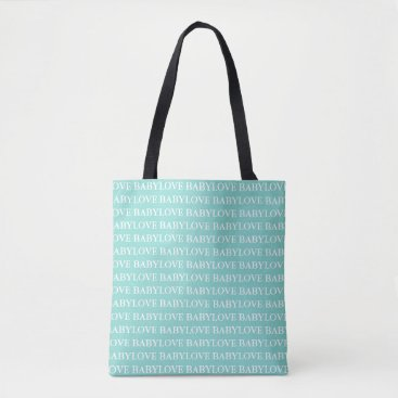 McTiffany Tiffany Aqua BABY & CO. Blue Tiffany Baby Love Tote Bag