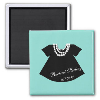 BABY & CO. Tiffany Baby Little Black Dress Magnet