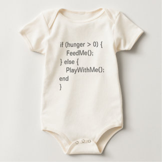Baby Code - Hungry & Play Rompers