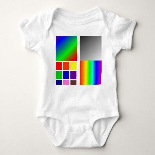 Baby Color pallet Baby Bodysuit