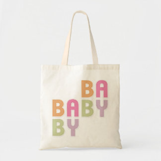 BABY Colorful Letters Nursery Mom tote bag