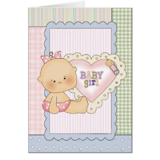 Baby Congratulations Card/Shower Invitation/Thank Card