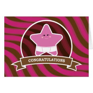 Baby Congratulations Design Card