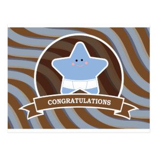 Baby Congratulations Design Postcard