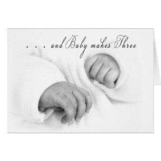Baby Congratulations Greeting Card