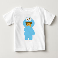 Baby Cookie Monster Eating Baby T-Shirt