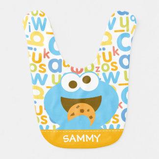 Baby Cookie Monster Eating Bib