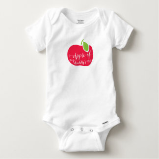 "Baby Cotton ""Apple of My daddy's Eye Baby Onesie"