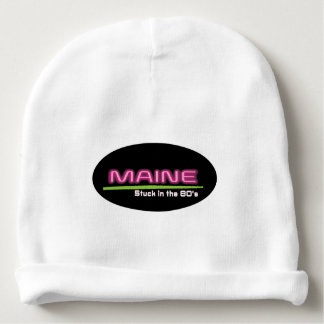 Baby Cotton Beanie MAINE STUCK IN THE 80'S
