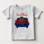 Baby couch potato shirt