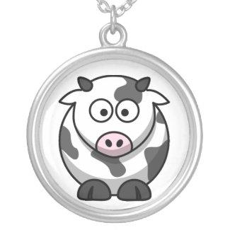 Baby Cow Cartoon Necklace necklace