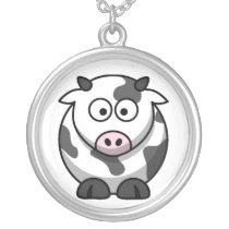 Baby Cow Cartoon Necklace