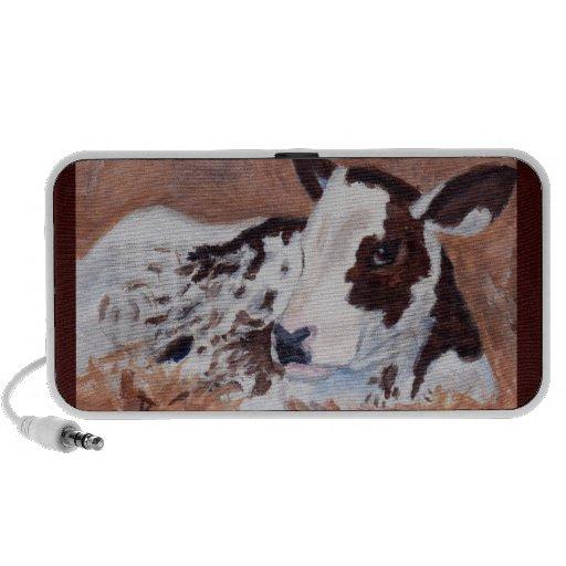 Baby Cow Doodle Speaker