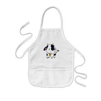Baby cow kids' apron