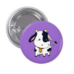 Baby Cow Pin Redondo De 1 Pulgada