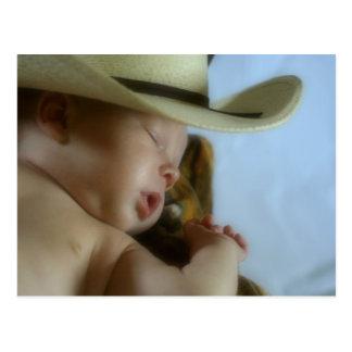 Baby Cowboy Postcard
