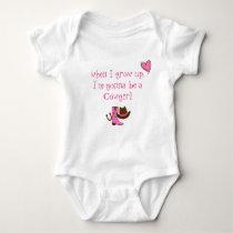 Baby Cowgirl Baby Bodysuit