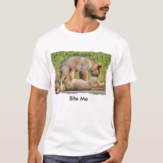 Baby Coyote Brothers Fighting T-Shirt