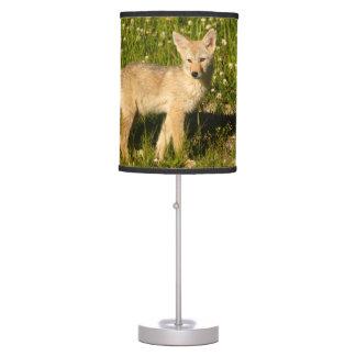 baby coyote desk lamp