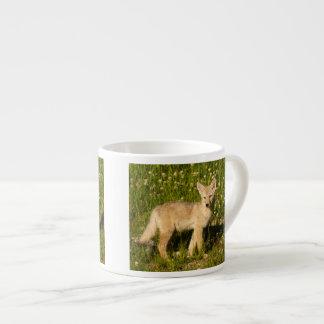 baby coyote espresso cup