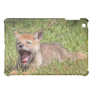 Baby Coyote Yawning Case For The iPad Mini