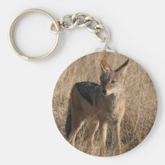 Baby Coyotes Keychain
