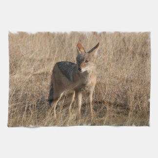 Baby Coyotes Kitchen Towel