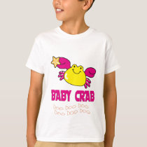"""BABY CRAB "" MOMMY DADDY Matching Family CRAB T-Shirt"