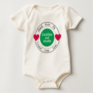 Baby Created With Love Clothing - SRF Baby Bodysuit