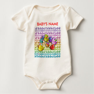 Baby Creeper Rubber Ducky Pop Art