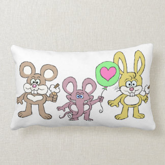 Baby critters. pillow