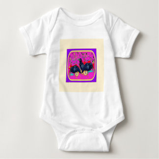 Baby Crows Wimsey  by Sharles Baby Bodysuit