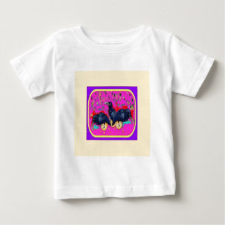 Baby Crows Wimsey  by Sharles Baby T-Shirt