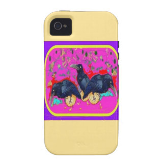 Baby Crows Wimsey  by Sharles iPhone 4 Covers