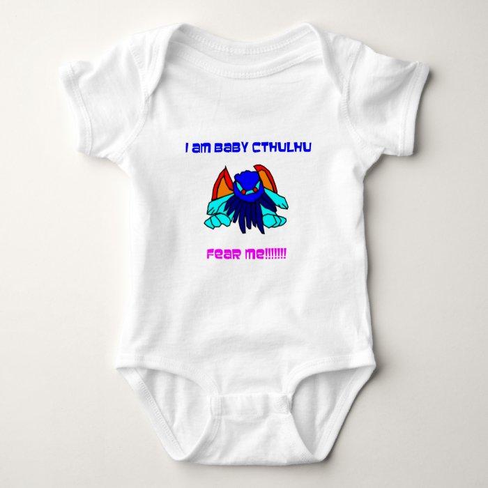 Baby Cthulhu Baby Bodysuit